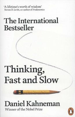 Thinking, Fast and Slow-Daniel Kahneman