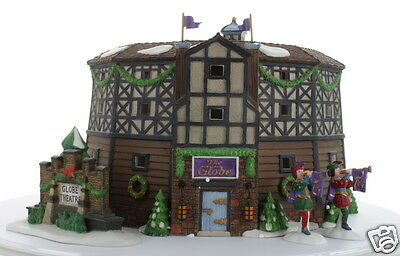 The Old Globe Theatre 1997 #58501 Collectible Dickens' Village Department 56