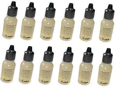 Twelve New Fresh Jsp Platinum Acid Testing Solution Squeeze Bottle Test Tester