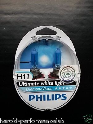 Philips Diamond Vision H11 Made in Germany H11 12362DVS2