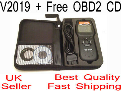 D900 Any Car OBD2 EOBD CAN BUS Fault Code Reader Scanner diagnostic scan tool UK