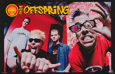 Poster : Music : Offspring  - All 4 Posed   - Free Shipping !! #6217 Rc14 D