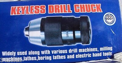 Keyless Chuck High precision  1 to 16mm includes  2MT or 3MT ARBOR