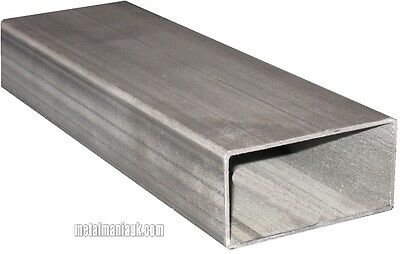 Steel  ERW hollow section 100mm x 50mm x 2mm x 1.5 mtr rectangular section