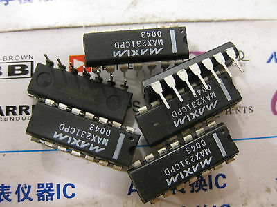 5V-Powered Multichannel RS-232 Drivers//Receivers 10PCS MAX232CWE MAX232CWE+T