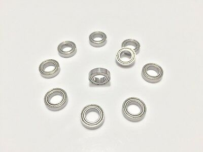 50pcs MR148ZZ MR148 2Z 8x14x4mm Metal Shielded Ball Bearing Miniature Bearing