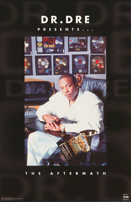 Poster - Rap -  Dr. Dre - Aftermath   1996  - Free Shipping !   #8018  Rc3 G
