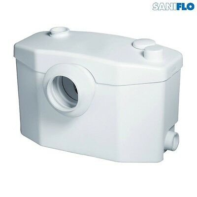 SANIFLO SaniPRO Domestic Macerator (WC + 3 Outlets), 1006