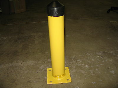 """NEW Eagle Round Bollard 24x4 1/2"""" Yellow Part Number 1742"""