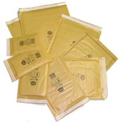 GOLD JIFFY PADDED ENVELOPES 85 gsm BAGS CD DVD JL1 JL000 JL00 JL0 10 20