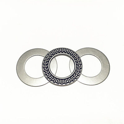10pcs AXK1528 15x28x2 mm Thrust Needle Roller Bearing with 2AS Washers Each