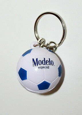 Modelo Especial Beer Soft Soccer Ball Advertising Promo Key Chain New