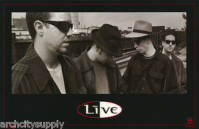 Poster - Music - Live - Portrait By Train   - Free Shipping ! #7218 Lw26 B