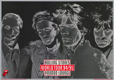 Poster : Music : Rolling Stones World Tour 94/95 - Free Shipping ! #7197 Lw22 F
