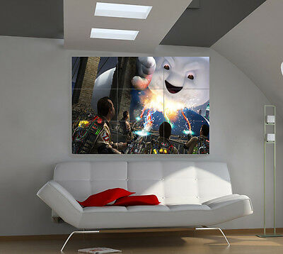 """Ghostbusters Giant Wall Poster Big Art Print 39""""x57""""i145"""