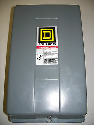 Square D Encl 60Amp 3Pole Lighting Contactor 8903Spg3 120Vcoil