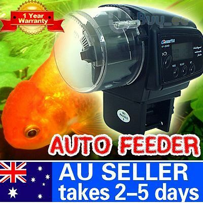 Auto Automatic Aquarium Fish Tank Food Feeder LCD Timer