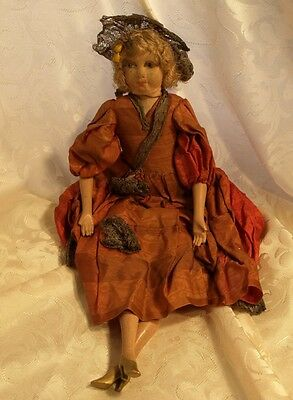 OLD FRENCH BOUDOIR DOLL.PARIS circa 1900