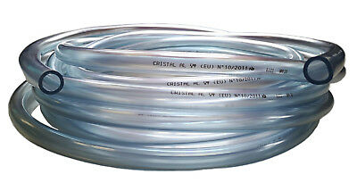 Clear Flexible Pvc Tube - Air / Water Hose Pipe - 3Mm To 25Mm Diameter