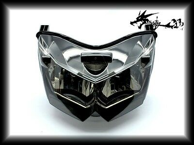 Headlight Assembly Headlamp For Kawasaki 2007-2008 Z1000 Z 1000 ZR1000 Smoke