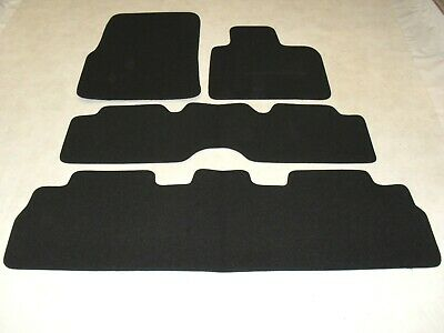 Renault Espace 2003-2007 Fully Tailored Deluxe Car Mats in Black