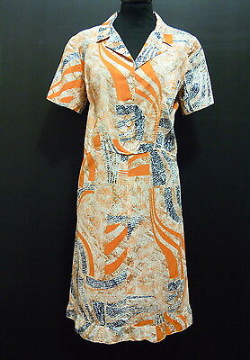 CULT VINTAGE '70 Abito Vestito Donna Woman Cotton Dress Sz.M