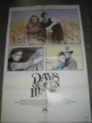 Days Of Heaven / Original  U.s. One-Sheet Movie Poster (Terence Malick)