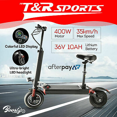 BOOSTGO S7 Off-Road Electric Scooter w/ Adjustable Seat 11 inches 500W Power AU