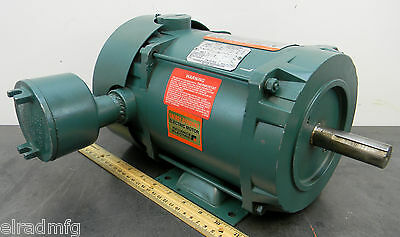 RELIANCE P14H2403M-VS 1 HP 1730 RPM ELECTRIC MOTOR 3PH 208-230/460 NEW OLD STOCK