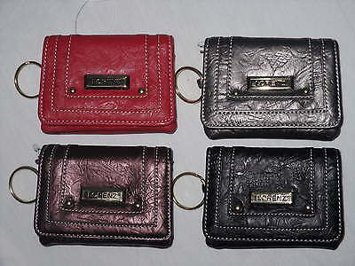 Small Soft Purse in Red,Bronze,Silver/Grey and Black.