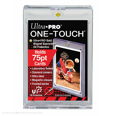 Ultra Pro Specialty Series 75pt Magnetic One Touch Card Protector - 1.8mm