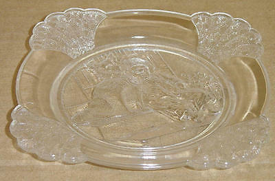 EAPG CLASSIC PUCK PLATE GILLINDER & SONS 1875