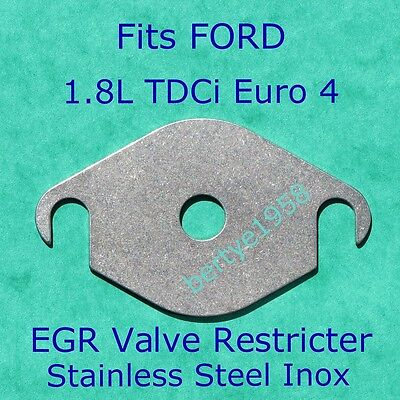 EGR valve blanking plate Ford 1.8 TDCi Transit Connect Focus Mondeo Galaxy cmax