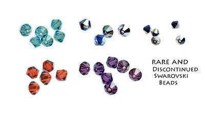[250 BEADS] Swarovski Crystal Beads Clearance 5301 4MM Mixed Colours