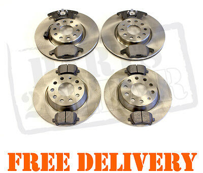 Vw Touran 1.6 1.9 2.0 Fsi Tdi 2003 - Front And Rear Brake Pads And Discs