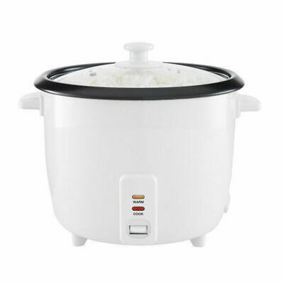 Maxim RC10 10 CUP 1.8L White Electric Automatic Rice Cooker / Steamer/Healthy