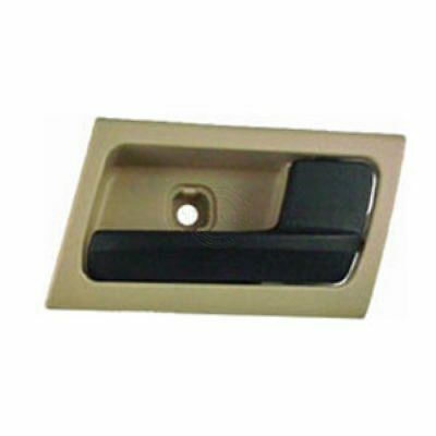 Camel & Black Inner Inside Door Handle Right RH for Crown Vic Grand Marquis