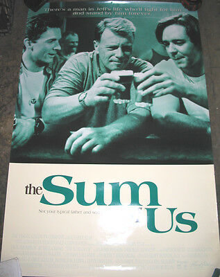 The Sum Of Us / Original U.s. One-Sheet Movie Poster  (Russell Crowe)