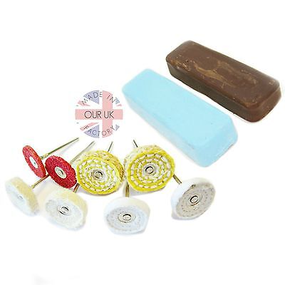Detailed Alloy Polishing Kit45 Scratch& Rust Removal to High Shine