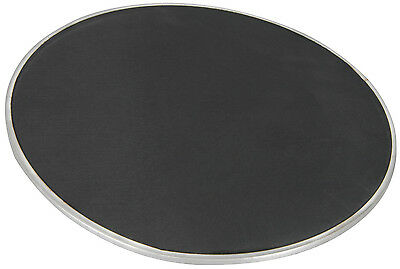 Twin Ply Mesh Drum Head Skin For Practice, Silent Play & Electronic Kits - Black