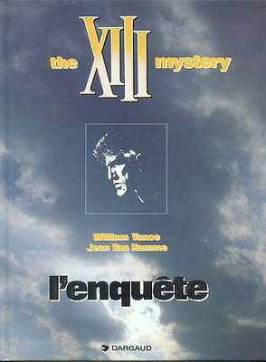 XIII.The XIII mystery.L' enquete.VANCE / VAN HAMME.Eo 1999 CV18