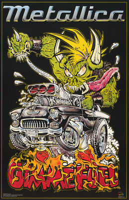 Poster : Music : Metallica -  Gimme Fuel -  Free Shipping !    #6171     Rp77 N