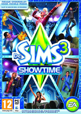 PC & Mac Spiel Die Sims 3 Add-On Showtime NEU OVP