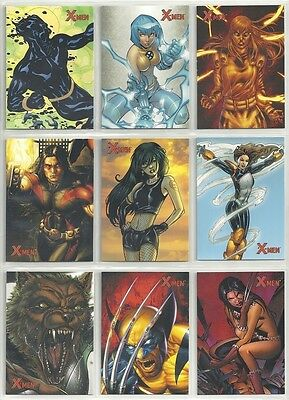 2009 Marvel XMen Archives 72 Card Set by Rittenhouse
