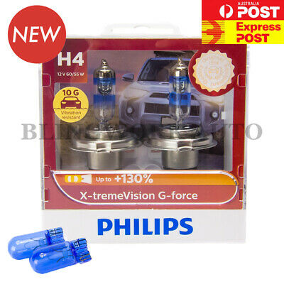 Aus Version PHILIPS H4 X-treme Vision Plus +130%  Halogen Light bulbs extreme