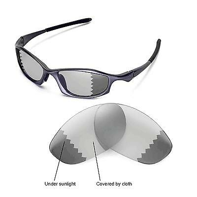 11456205c5 New Walleva Polarized Transition Photochromic Lenses For Oakley Hatchet Wire