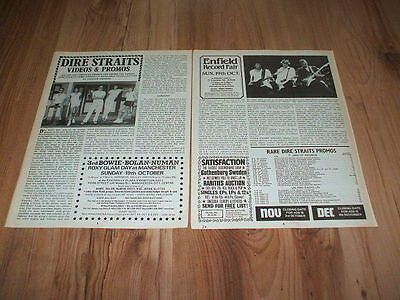Dire straits-1986 magazine article