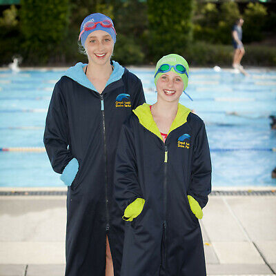 Great Aussie Swim Parka (beach robe, deck coat, swim jacket)