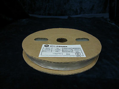 """Pro-Power PP2159 Clear 1/2"""" Heat Shrink Tubing 100 ft, 7202A"""