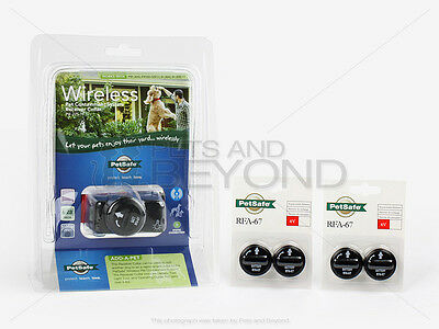 PetSafe Wireless Fence Extra Collar with 4 Extra Batteries PIF-275-19